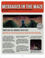 Messages in the Maze